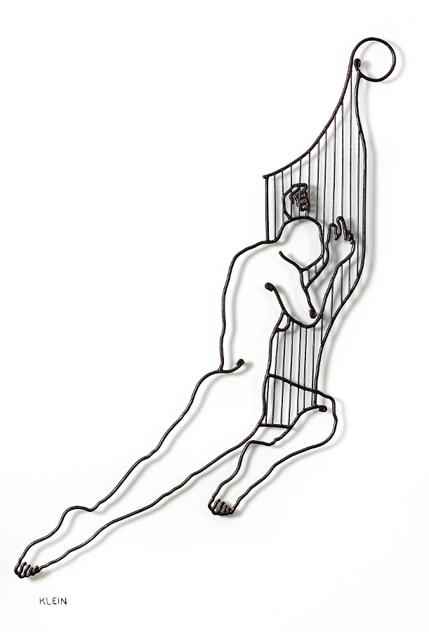 Playing on harp - 75/110 cm